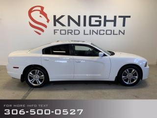 Used 2012 Dodge Charger SXT, Auto, All Wheel Drive, Local Trade!! for sale in Moose Jaw, SK