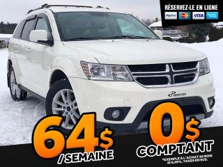 Used 2013 Dodge Journey SXT   ''DVD  DÉMARREUR A DISTANCE'' for sale in St-Malachie, QC