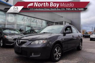 Used 2008 Mazda MAZDA3 GX Self Certify - Click Here! Test Drive Appts Available! for sale in North Bay, ON