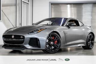 Used 2017 Jaguar F-Type SVR AWD Coupe *575 HORSEPOWER, NOUVELLE ARRIVÉE!* for sale in Laval, QC