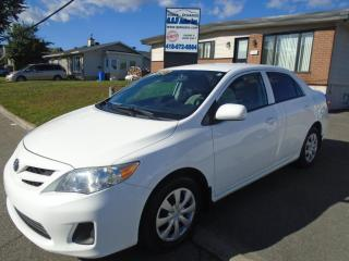 Used 2013 Toyota Corolla Groupe confort for sale in Ancienne Lorette, QC