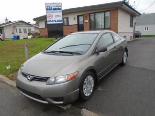 Used 2008 Honda Civic DX-G for sale in Ancienne Lorette, QC