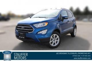 New 2020 Ford EcoSport SE for sale in Tillsonburg, ON