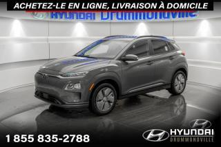 Used 2021 Hyundai KONA Electric EV PREFERRED + DEMO + FAITES-VITE!! for sale in Drummondville, QC