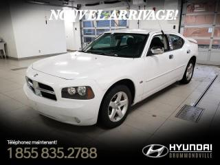 Used 2010 Dodge Charger SXT + CUIR + A/C + CRUISE + MAGS + WOW ! for sale in Drummondville, QC