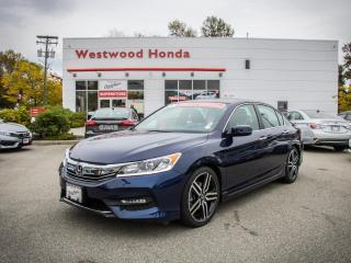 Used 2017 Honda Accord Sedan Sport for sale in Port Moody, BC