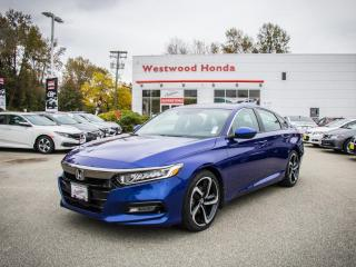 Used 2018 Honda Accord Sedan Sport 6-Spd MT for sale in Port Moody, BC