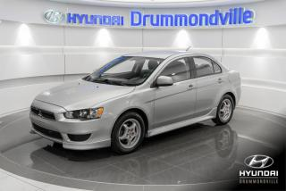 Used 2012 Mitsubishi Lancer SE + GARANTIE + A/C + MAGS + CRUISE + W for sale in Drummondville, QC