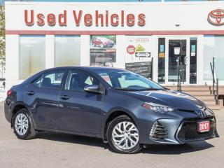 Used 2017 Toyota Corolla SE | HEAT-SEAT | REV-CAMERA | LOW KM | 1-OWNER for sale in North York, ON