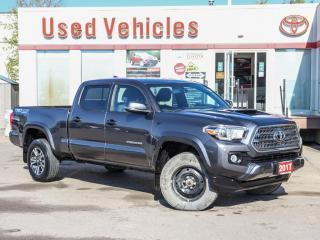Used 2017 Toyota Tacoma TRD 4X4 SPORT ALLOYS PUSH-START HOOD-SCOOP CAMERA for sale in North York, ON