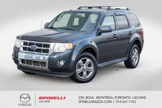 Used 2009 Ford Escape Limited 4WD GPS BAS KILOMETRAGE TELQUEL Ford Escape Limited 2009 for sale in Lachine, QC