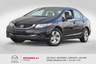 Used 2015 Honda Civic LX CVT Camera de Recule Bluetooth Honda Civic LX 2015 for sale in Lachine, QC