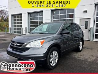 Used 2010 Honda CR-V LX * 4 ROUES MOTRICES* BAS KM * for sale in Donnacona, QC