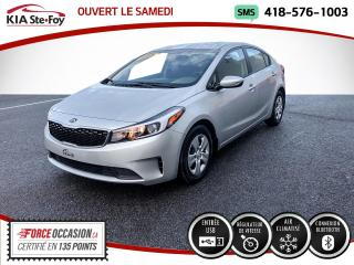 Used 2018 Kia Forte * LX* BLUETOOTH* PRISE USB* JAMAIS ACCID for sale in Québec, QC