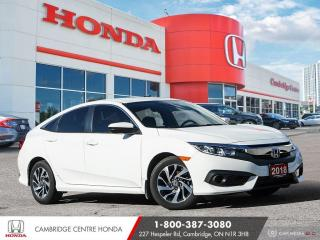 Used 2018 Honda Civic SE PUSH BUTTON START | REMOTE ENGINE STARTER | APPLE CARPLAY™ & ANDROID AUTO™ for sale in Cambridge, ON