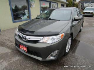 Used 2014 Toyota Camry LOADED XLE EDITION 5 PASSENGER 2.5L - DOHC.. NAVIGATION.. LEATHER.. HEATED SEATS.. POWER SUNROOF.. BACK-UP CAMERA.. BLUETOOTH SYSTEM.. for sale in Bradford, ON