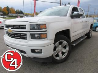 Used 2015 Chevrolet Silverado 1500 LT 4X4 V8 5.3L 6 PASS. MAGS 20'' MARCHE-PIEDS for sale in St-Jérôme, QC