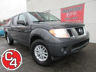 Used 2014 Nissan Frontier SV AWD 4X4 CREWCAB AUTO MAGS CRUISE A/C for sale in St-Jérôme, QC