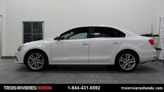 Used 2015 Volkswagen Jetta HIGHLINE + CUIR + BLUETOOTH + CAMERA ! for sale in Trois-Rivières, QC