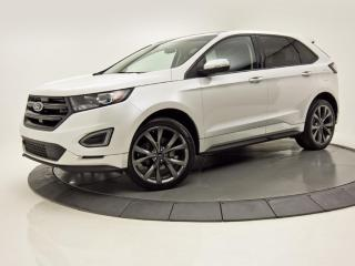 Used 2017 Ford Edge Sport AWD Toit pano Nav big Wheels for sale in Brossard, QC