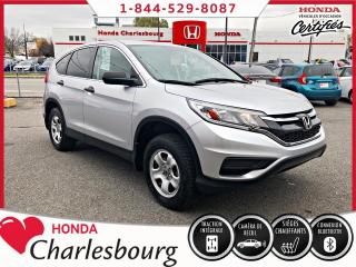 Used 2016 Honda CR-V LX AWD**UN PROPRIÉTAIRE** for sale in Charlesbourg, QC