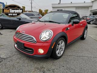 Used 2014 MINI Cooper CONVERTIBLE - Auto - No Accidents - Ontario Vehicle - Low Mileage - Loaded - Excellent Condition for sale in North York, ON
