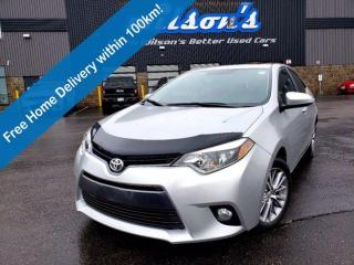 Used 2015 Toyota Corolla LE Upgrade - Sunroof, Heated Seats, Reverse Camera, Keyless Entry, Alloy Wheels & Much More! for sale in Guelph, ON