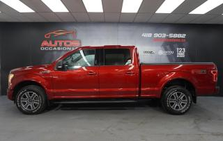 Used 2015 Ford F-150 XLT FX4 OFF ROAD V8 5.0L 4X4 + SUPER CREW 152 004 for sale in Lévis, QC