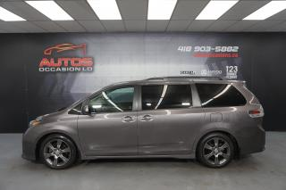 Used 2015 Toyota Sienna SE 8 PASSAGERS MAGS SIÈGES CUIR CAMERA  57 980 KM for sale in Lévis, QC