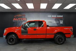 Used 2014 Ford F-150 XLT 5.0L 4X4 SUPER-CAB TRÈS BEAU LOOK 112 784 KM ! for sale in Lévis, QC