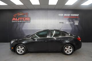 Used 2013 Chevrolet Cruze LT 1.4 TURBO AUTOMATIQUE MAGS CAMERA 131 617 KM !! for sale in Lévis, QC