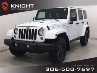 Used 2015 Jeep Wrangler Unlimited Wrangler X | Leather | Navigation | for sale in Regina, SK