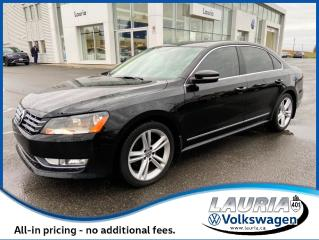 Used 2015 Volkswagen Passat Highline Manual - LOADED for sale in PORT HOPE, ON