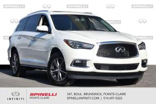 Used 2017 Infiniti QX60 AWD 4dr / TOIT / CUIR / CAMERA JAMAIS ACCIDENTE for sale in Montréal, QC