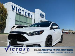 Used 2016 Ford Focus ST ST| NAV| SUNROOF| 6-SPEED MANUAL for sale in Chatham, ON
