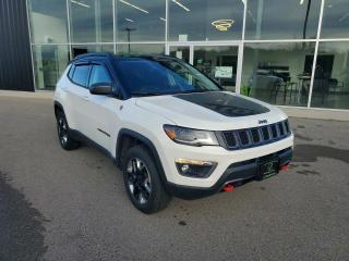Used 2018 Jeep Compass Trailhawk 1 OWNER, LOW KM, PANO SUNROOF, HTD Seats!! for sale in Ingersoll, ON