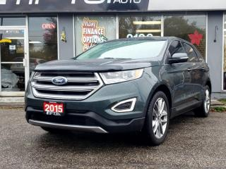 Used 2015 Ford Edge 4DR TITANIUM AWD for sale in Bowmanville, ON
