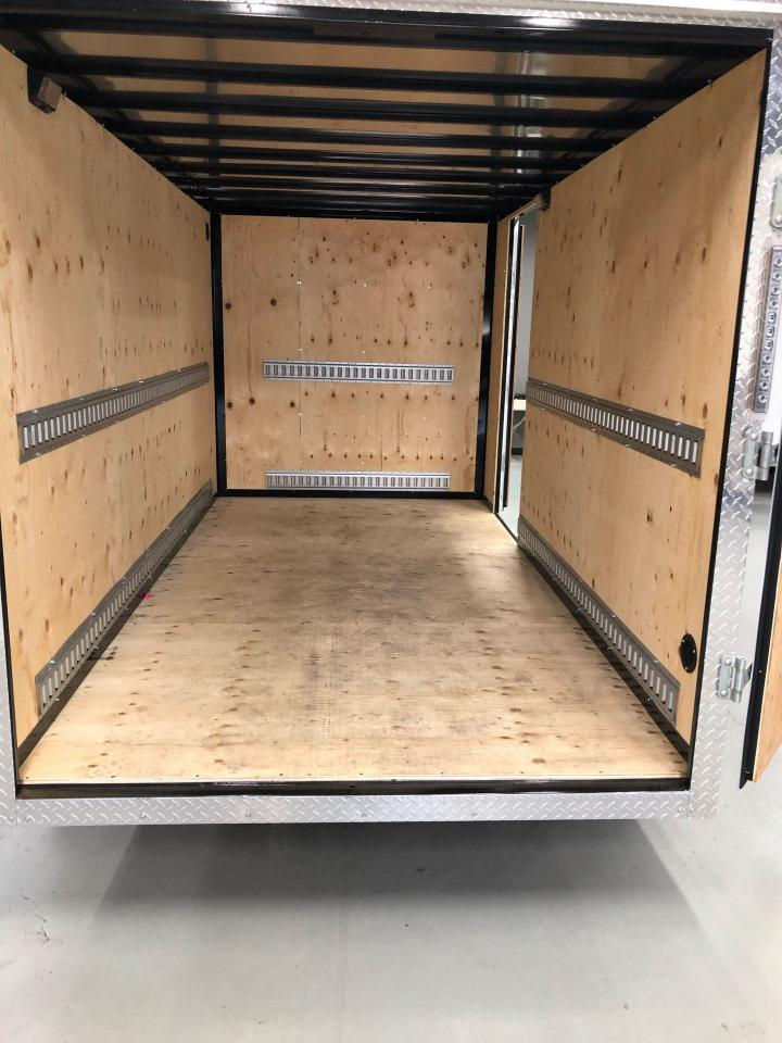 2020 Canadian Trailer Company 6x12 Flat Nose Cargo Trailer
