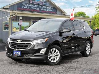 Used 2018 Chevrolet Equinox LT,REMOTE START,R/V CAM,B.TOOTH,HEATED SEATS for sale in Orillia, ON