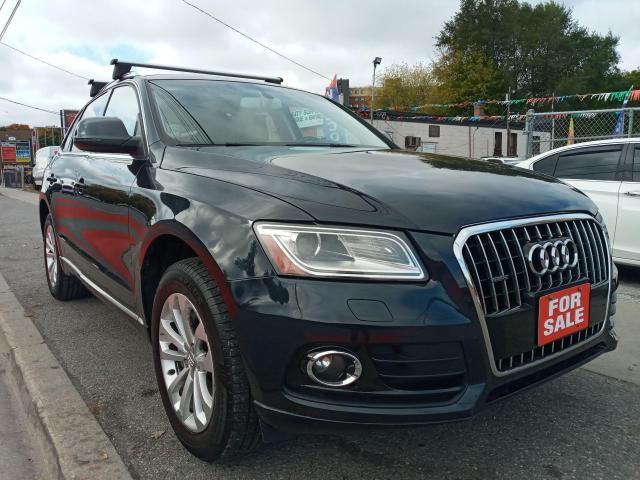 2013 Audi Q5 2.0L Premium-LEATHER-SUNROOF-BLUETOOTH-AUX-ALLOYS
