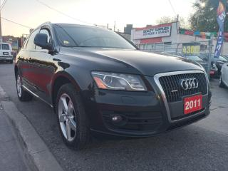 Used 2011 Audi Q5 2.0L Premium Plus-NAVI-BK UP CAM-LEATHER-ALLOYS for sale in Scarborough, ON