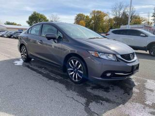 Used 2015 Honda Civic Sedan Touring 4dr FWD Sedan for sale in Brantford, ON