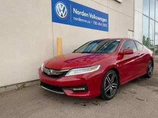 Used 2016 Honda Accord Coupe TOURING - FULLY LOADED for sale in Edmonton, AB