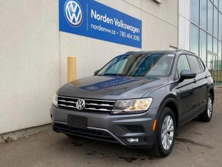 Used 2018 Volkswagen Tiguan TRENDLINE 4MOTION AWD - HEATED SEATS / CERTIFIED for sale in Edmonton, AB