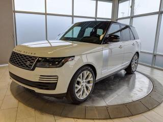New 2021 Land Rover Range Rover WESTMINSTER - P400 MODEL for sale in Edmonton, AB