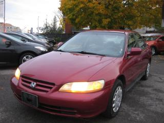 Used 2002 Honda Accord LX PL PM PW Cruise AC 4cyl FWD for sale in Ottawa, ON