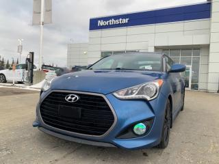 Used 2016 Hyundai Veloster RALLY EDITION/MANUAL/LEATHER/NAV/BACKUPCAM for sale in Edmonton, AB