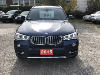 Used 2015 BMW X3 xDrive28i for sale in Hamilton, ON