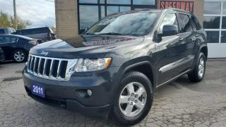 Used 2011 Jeep Grand Cherokee 4WD 4dr Laredo - Accident Free, Safety Certified for sale in Oakville, ON