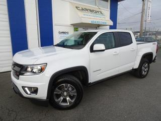 Used 2020 Chevrolet Colorado Z71 4x4, Crew Cab, One Owner, Like New for sale in Langley, BC